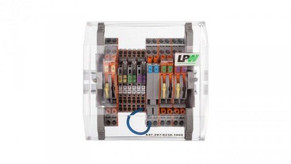 Listwa pomiarowa LPW 14-torowa 230V AC równoległa 847-297/230-1000
