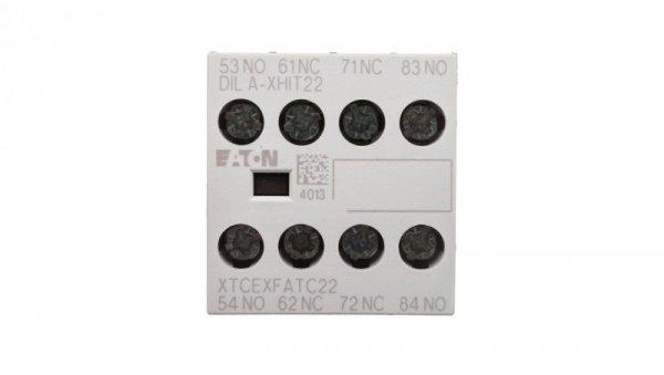 Styk pomocniczy 2Z 2R montaż czołowy DILA-XHIT22 101044