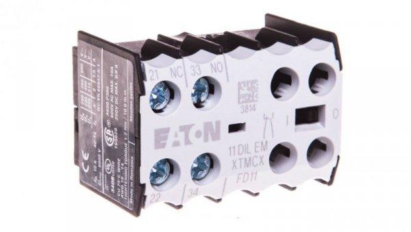 Styk pomocniczy 1Z 1R montaż czołowy 11DILEM 010080