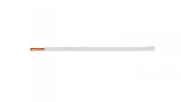 Przewód instalacyjny H07V-K (LgY) 1 biały /100m/