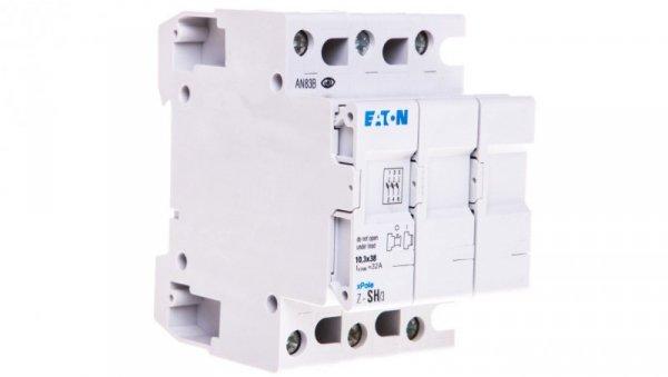 Rozłącznik bezpiecznikowy cylindryczny 3P 10x38mm Z-SH/3 263879