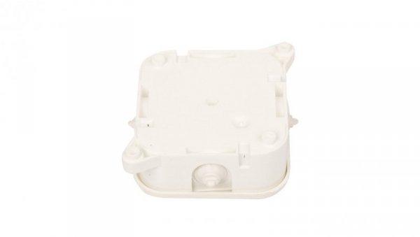 Puszka n/t hermetyczna pusta 85x85x35mm IP42 biała 0214-00