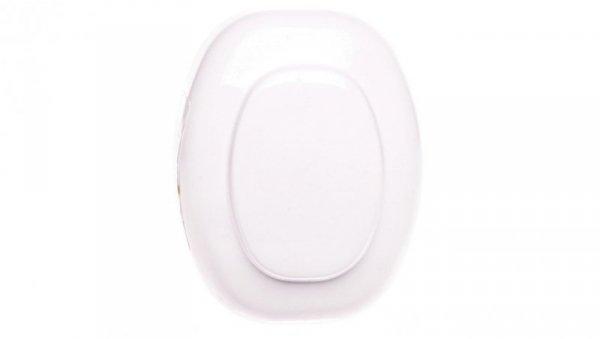 Przycisk nożny jednobiegunowy 2,5A IP20 biały LN101