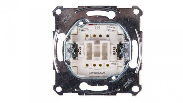 Merten Łącznik schodowy 10A 250V IP20 MTN3116-0000
