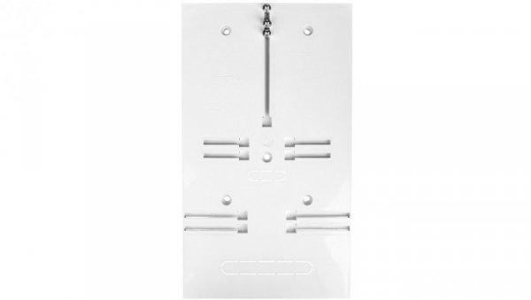 Tablica licznikowy 350x200mm 1/3F szary T-1F/3F-b/z-NOVA-12 10.14