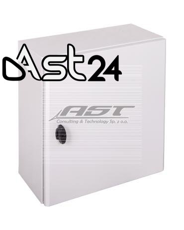Obudowa S3D 600x500x250mm IP66 z płytą montażową NSYS3D6525P