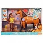Mustang: Duch wolności Spirit - Interaktywny rumak i lalka Lucky