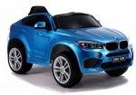 Auto na Akumulator BMW X6 Niebieski Lakierowane