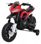 Motor na akumulator dla dzieci Night Rider Czerwony