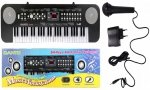 Duży keyboard organki 54 klawisze + mikrofon