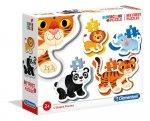Pierwsze puzzle zwierzęta ZOO Clementoni