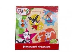 Bing puzzle drewniane