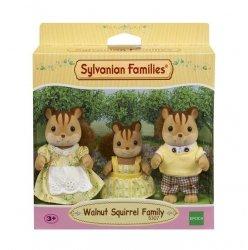 Sylvanian Families Rodzina wiewiórek  (Tata, Mama, Dziecko)