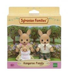 Sylvanian Families Rodzina kangurków (Tata, Mama, Dziecko)