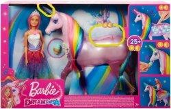 Barbie Jednorożec Magia świateł Mattel