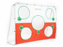Bramka piłkarska 215x153 cm z matą ECOTOYS