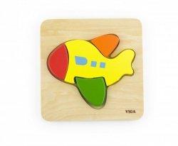 Pierwsze puzzle maluszka - samolot Viga