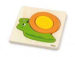 Pierwsze puzzle maluszka - ślimak Viga