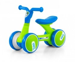 Jeździk rowerek biegowy Tobi Blue-Green Milly Mally