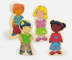 Figurki magnetyczne - dzieci Viga