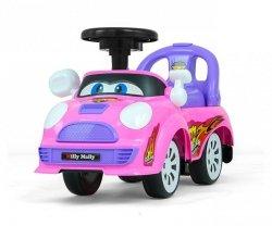 Jeździk pchacz Joy Pink-Purple Milly Mally