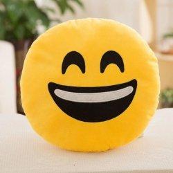 Poduszka Dekoracyjna  Emotki Emoji - duży uśmiech