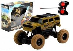 Auto Zdalnie Sterowane Jeep R/C 1:18 Beżowe