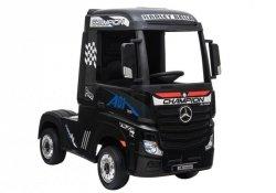 Auto Ciężarówka Tir na Akumulator Mercedes Actros Czarny Lakier