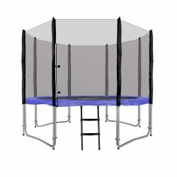 Trampolina Ogrodowa 10FT 305cm Niebieska