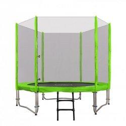 Trampolina Ogrodowa 8FT 244cm Zielona