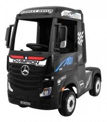 Auto Ciężarówka Tir na akumulator Mercedes Benz Actros Czarny