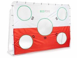 Bramka piłkarska 240x180cm z matą ECOTOYS