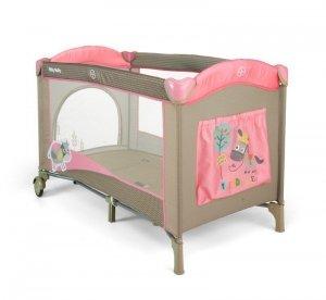 Łóżeczko Mirage Pink Cow Milly Mally