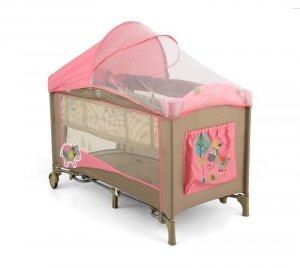 Łóżeczko Mirage Deluxe Pink Cow Milly Mally