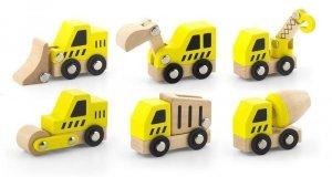 Pojazdy małego budowlańca Viga