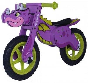 Rowerek Biegowy Dino Violet Milly Mally