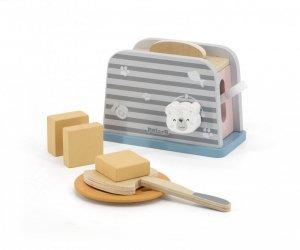 Drewniany toster z Misiem PolarB Viga