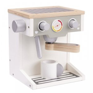 Drewniany ekspres do kawy drewniany + kubek