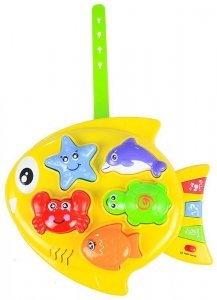Zabawka Edukacyjna Rybka Ocean Zwierzęta Wodne