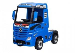 Auto Ciężarówka Tir na Akumulator Mercedes Actros Niebieski MP4