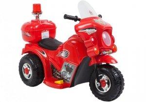 Motor motorek na akumulator dla dzieci Czerwony