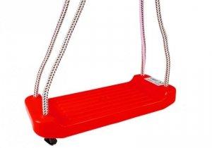 Huśtawka deska dla dzieci czerwona