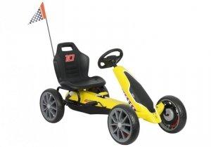 Gokart na Pedały Ferrari Żółty