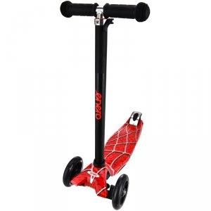 Hulajnoga dla dzieci 3 kołowa balansowa Enero Maxi Spider