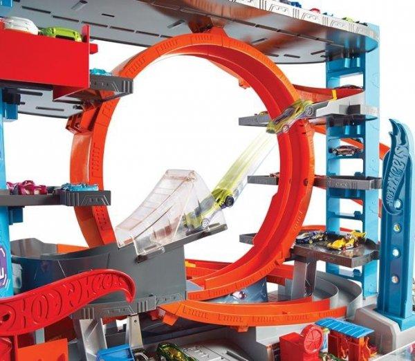 Hot Wheels City Mega Garaż Rekina