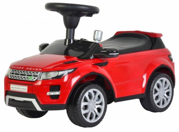 Land Rover jeździk chodzik pchacz licencja dźwięki
