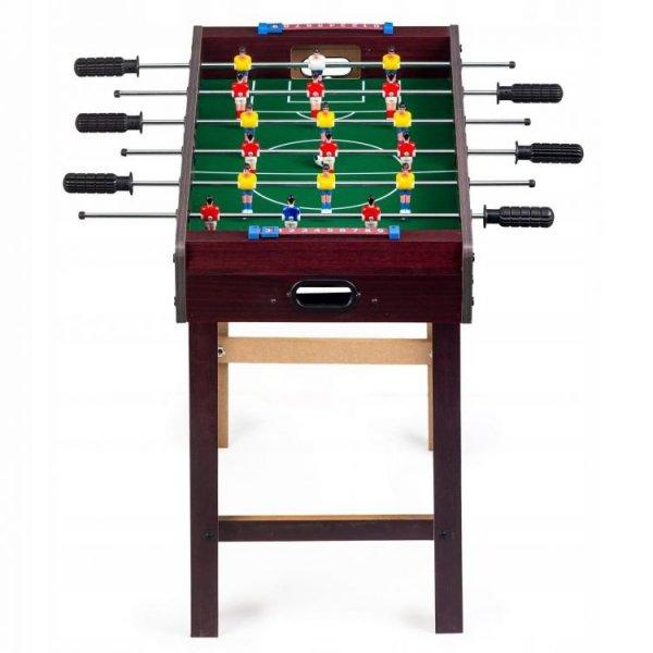 Piłkarzyki duży drewniany stół do gry Ecotoys