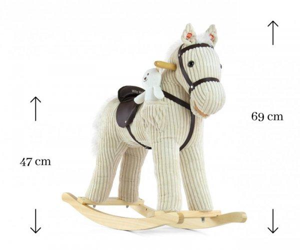 Konik na biegunach Pony Luna Milly Mally