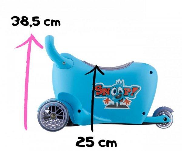 Hulajnoga/Jeździk SNOOP! 3w1 GREEN Milly Mally