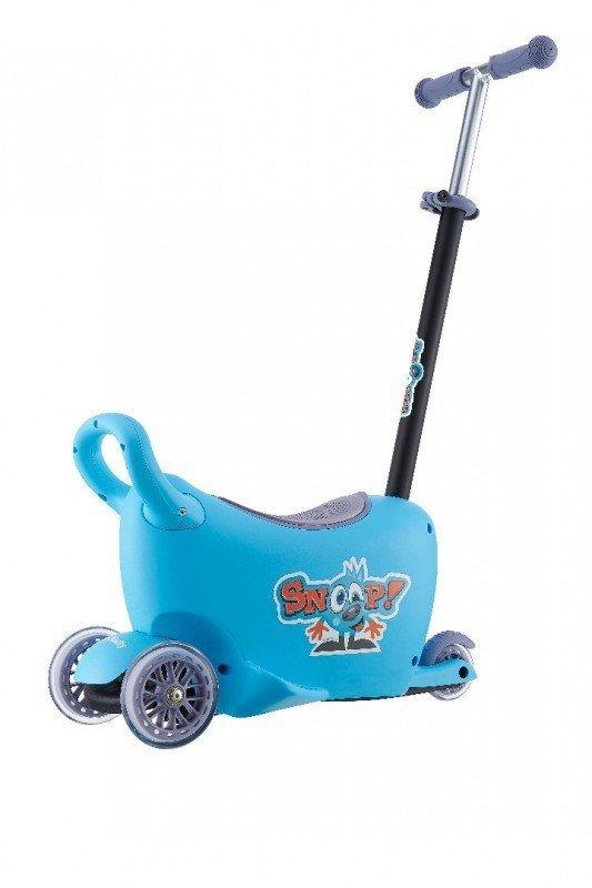 Hulajnoga/Jeździk SNOOP! 3w1 BLUE Milly Mally